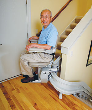 Curved Rail Stair Lifts A4 Access