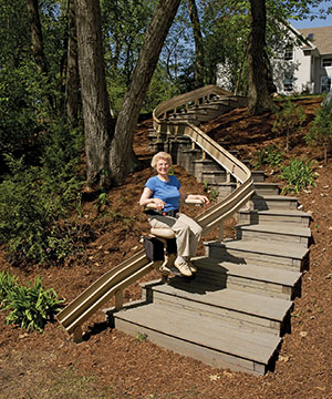 Outdoor Stair Lifts A4 Access